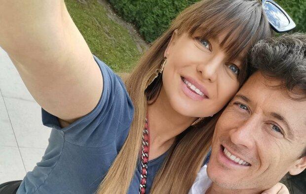 Anna Lewandowska i Robert Lewandowski. Źródło: Instagram