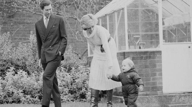 Diana, Karol i William